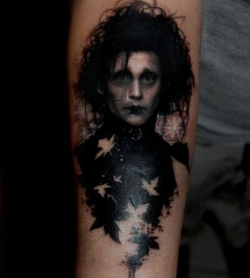 People scary tattoo