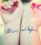 Pretty couples tattoo
