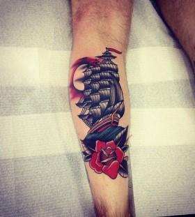 Pretty tattoo by Kirk Jones