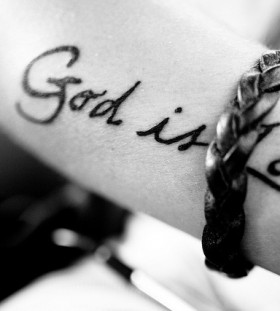 Quotes tattoo about god