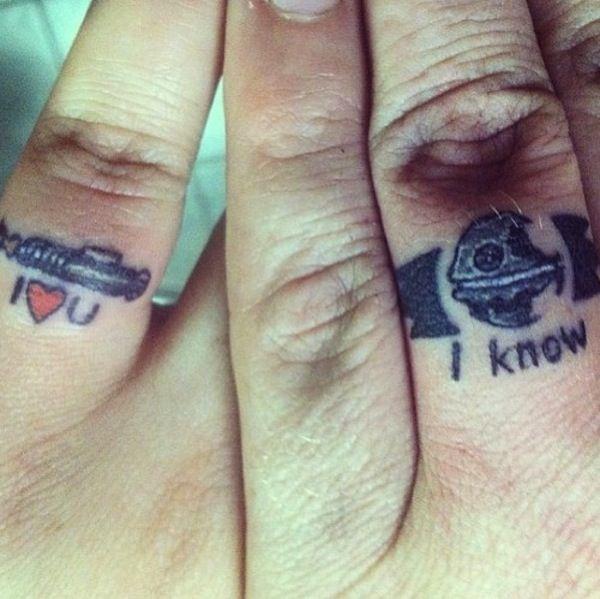 Romantic couples tattoo - | TattooMagz › Tattoo Designs ...
