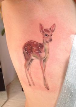 Row tattoo by Amanda Wachob
