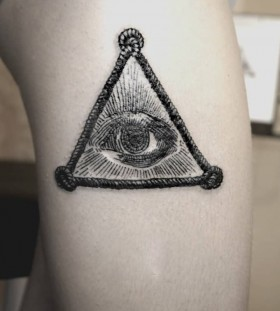SV.A tattoo all seeing eye of god