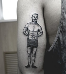 SV.A tattoo boxer