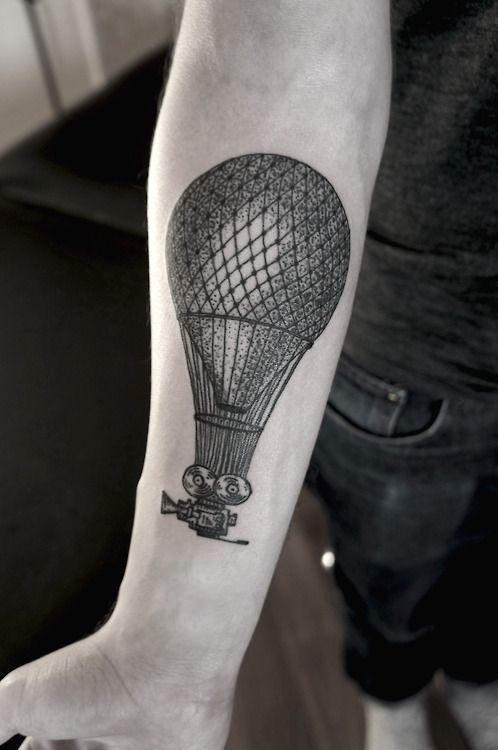 SV.A tattoo flying camera