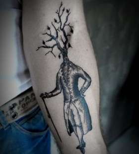 SV.A tattoo tree head