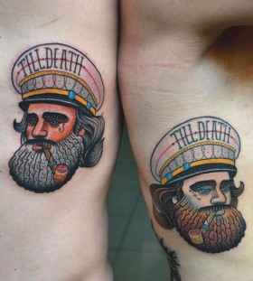 Sailor tattoo by Aivaras Lee