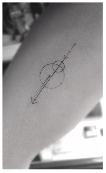 Shapes geometric tattoo