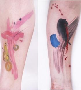 Simple tattoo by Amanda Wachob