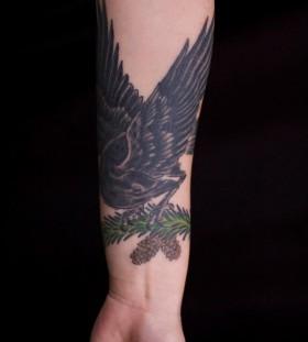 SirLexi Rex tattoo black crow