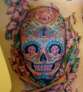 Skull tattoo by Sean Ambrose