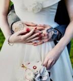 Tattooed groom couples tattoo