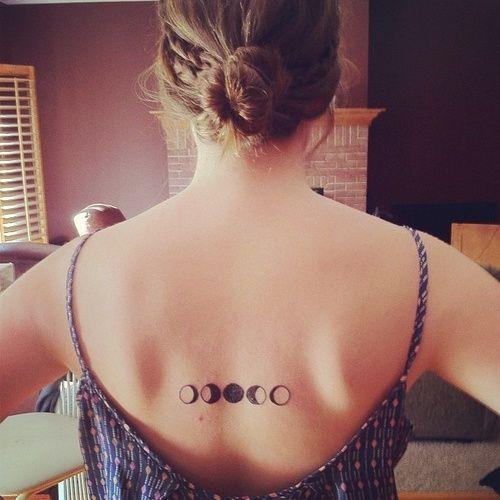Moon design tattoos