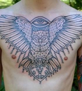 Wings tattoo by Aivaras Lee