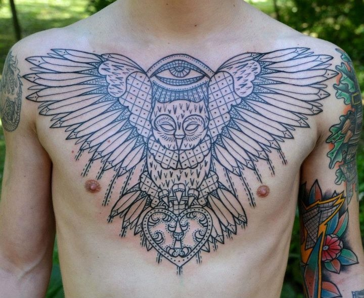 Wings tattoo by Aivaras Lee