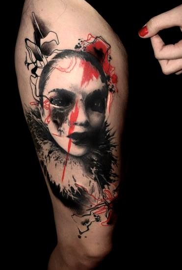 Tattoo by Volko Merschky