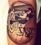 Wonderful disney mouse tattoo