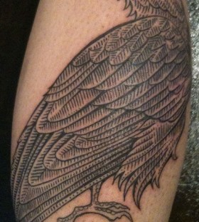 duke riley tattoo bird