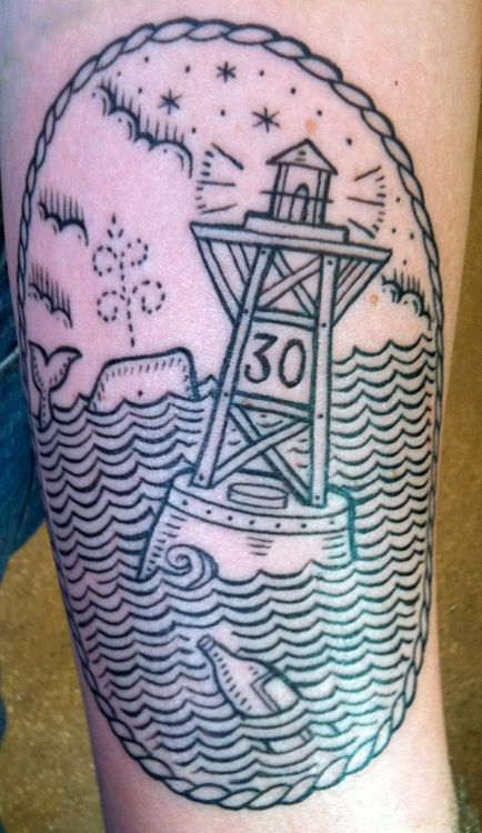 duke riley tattoo buoy