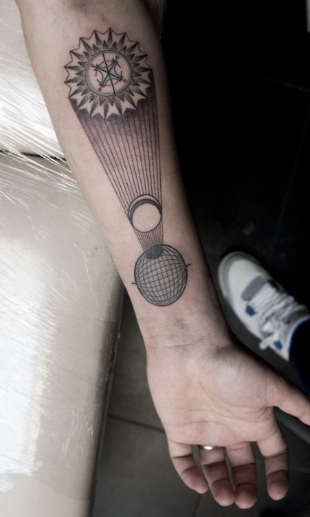 eclipse tattoo by M-X-M