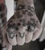 kenji alucky tattoo  hand tattoo