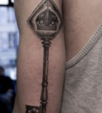 key tattoo by M-X-M