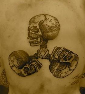 liam sparkes tattoo triple skull