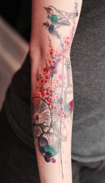 marta lipinski arm tattoo