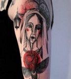 marta lipinski mother mary tattoo
