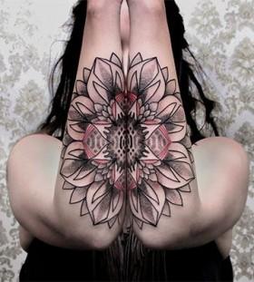 ornament colourful tattoo