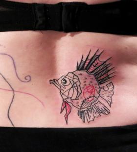 piranha tattoo by matik