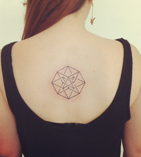 seb inkme geometric tattoo on back