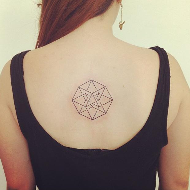 seb inkme geometric tattoo on back