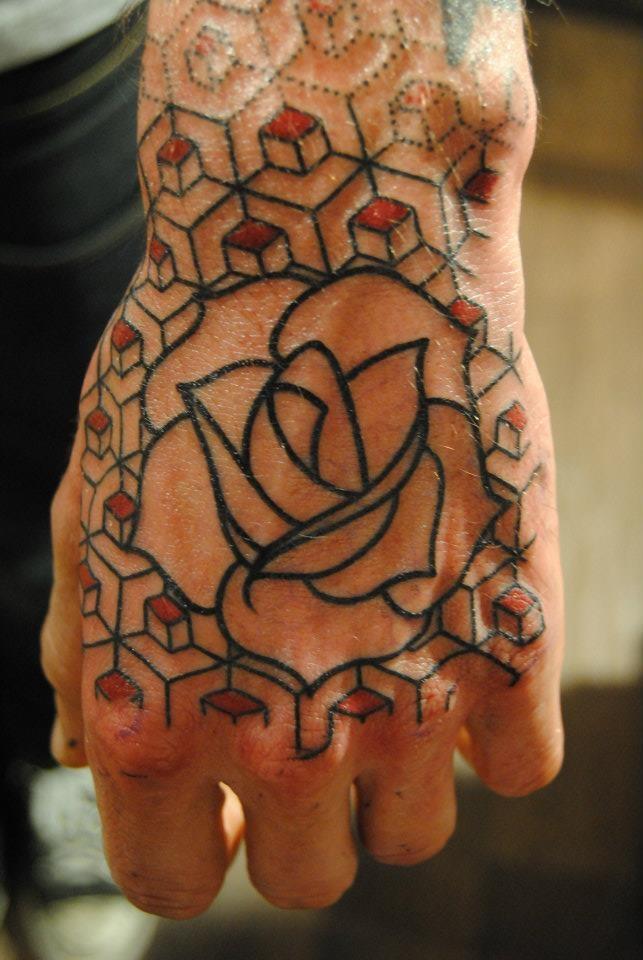 seb inkme rose hand tattoo