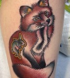 virginia elwood tattoo fox ate rabbit
