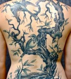virginia elwood tattoo full back tree