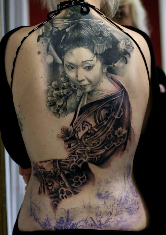 Asian women tattoo TattooMagz Tattoo Designs Ink