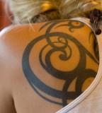 Cute back tattoo