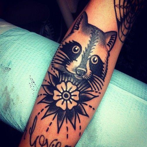 Cute panda tattoo by Josh Stephens