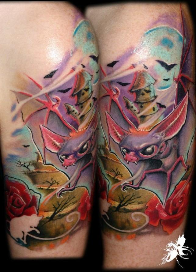 Mel Wink tattoos