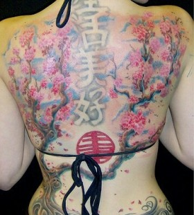Amaizing chinese tattoo
