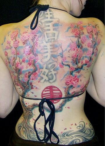 Amaizing chinese tattoo