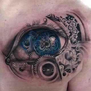 Amazing eye tattoos