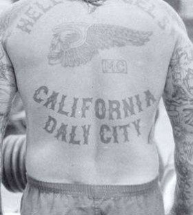Back prison tattoos