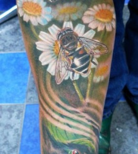 Bees tattoo by Zhivko Baychev