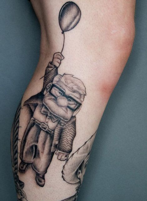 Black And White Cartoon Tattoos Tattoomagz Tattoo Designs