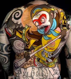 Crazy tattoo by Jee Sayalero