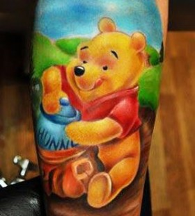 Cute cartoon tattoos