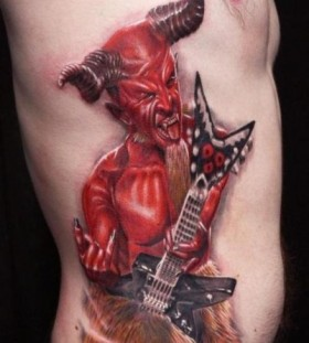 Devil tattoo by Zhivko Baychev
