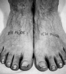 Foots prison tattoos